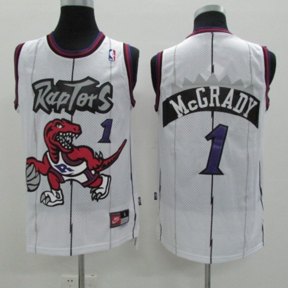 Tracy McGrady Toronto Raptors  1 Throwback Jersey 00bf73604